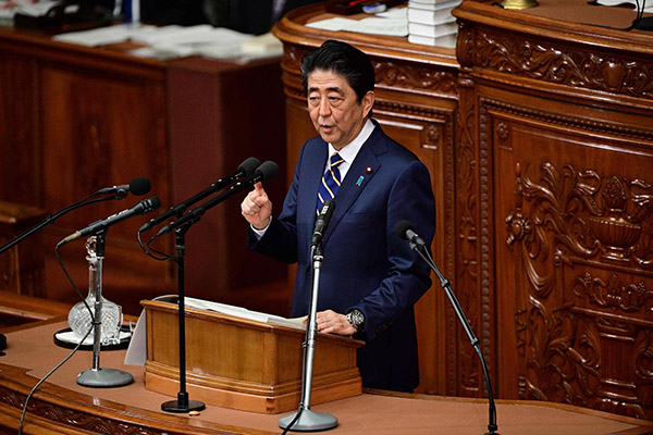 Japanese PM Abe Says He Wants to Normalize Ties with N. Korea
