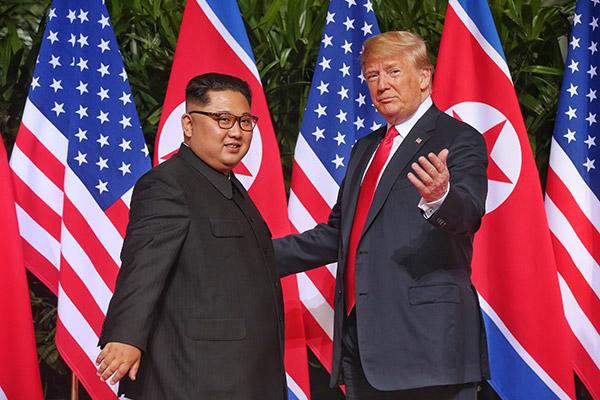القمة الثانية بين كوريا الشمالية والولايات المتحدة
