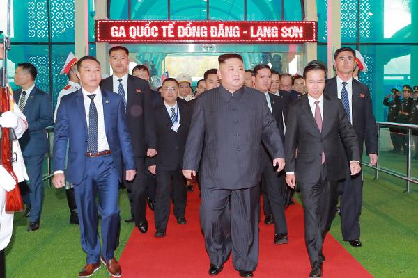 Nordkoreas Machthaber besucht Vietnam