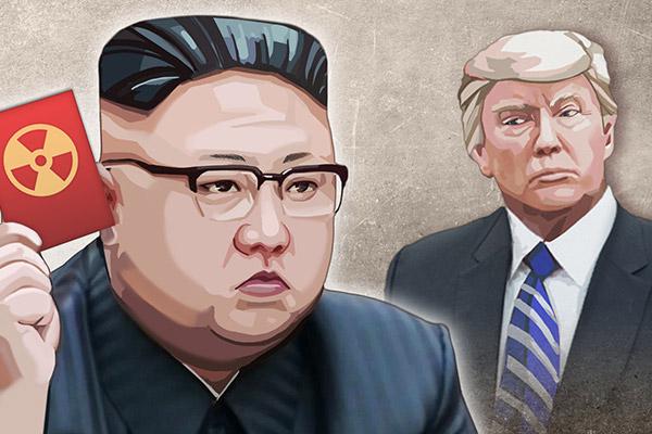 المواجهة بين كوريا الشمالية والولايات المتحدة