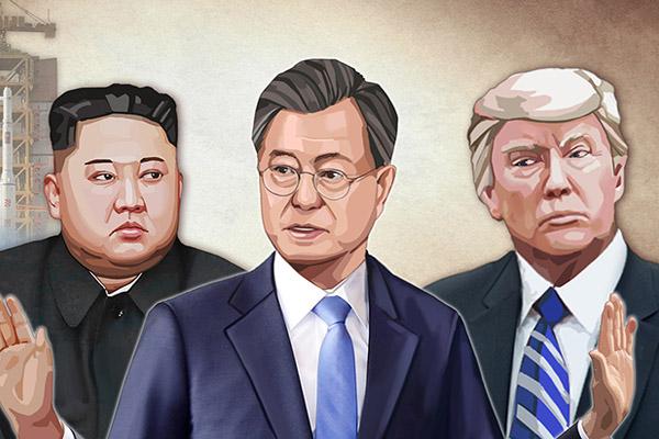 韩美两国将于4月11日举行首脑会谈