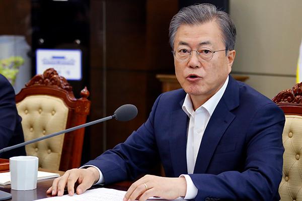 Presiden Moon mengusulkan KTT ke-empat dengan pemimpin Kim