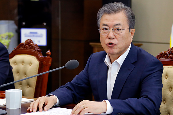 Moon Proposes Fourth Summit with Kim