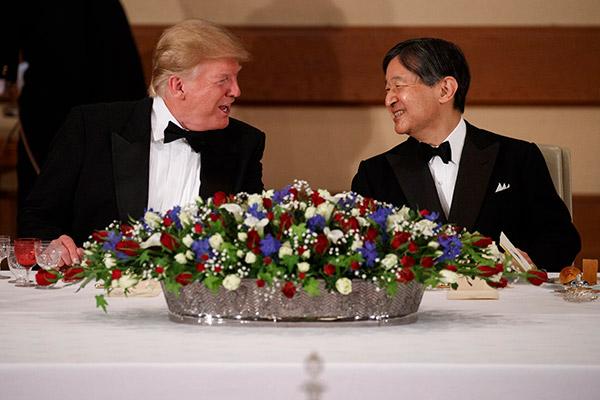トランプ大統領の訪日