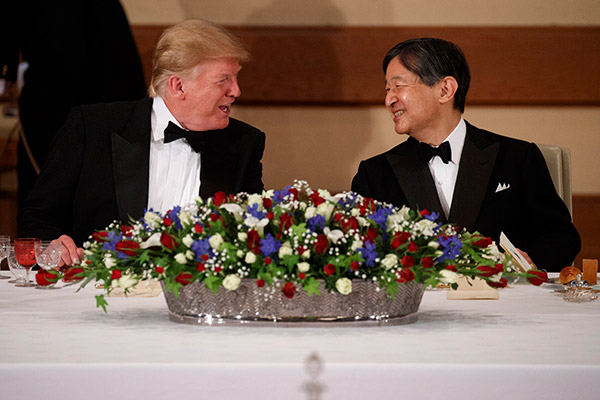 Trumps Staatsbesuch in Japan