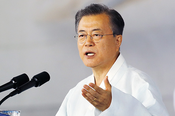 Moon's Vision of 'Peace Economy'