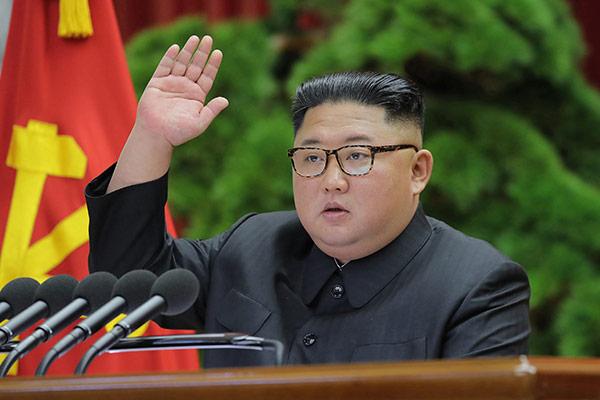 北韓の党中央委員会総会