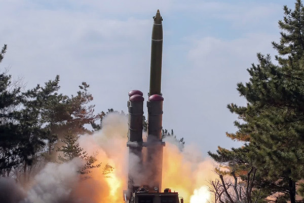 N. Korea Resumes Firing Missiles after 95 Days