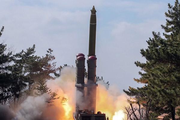 北韩时隔95天发射短程发射体的意图