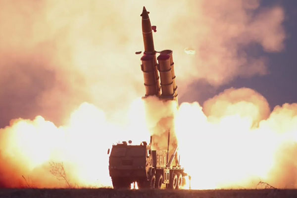 북한의 발사체 도발