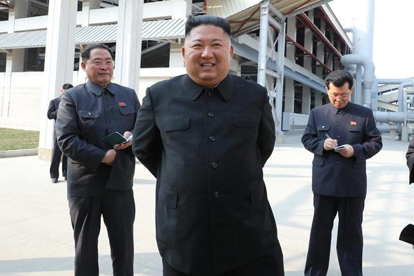 北韩国务委员会委员长金正恩时隔20天公开亮相