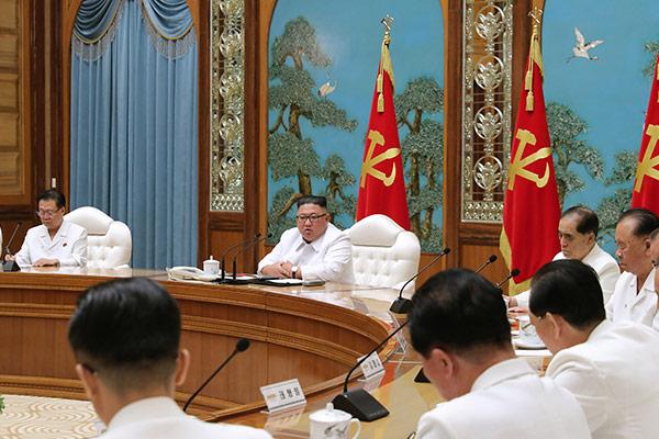 北韩主张越北者金某疑似被新冠病毒感染并封锁开城市的意图