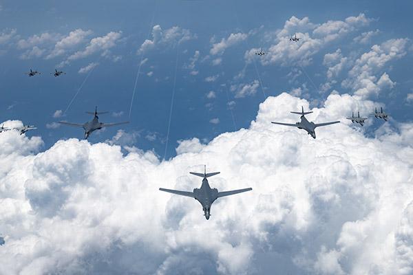 كوريا الجنوبية والولايات المتحدة بدأتا تدريبات عسكرية مشتركة