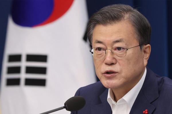 La politique du gouvernement sud-coréen à l'égard de la Corée du Nord en 2021