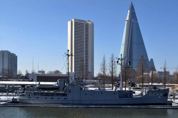 Pengadilan AS Perintahkan Korut untuk Bayar Kompensasi Terkait Kasus Kapal USS Pueblo