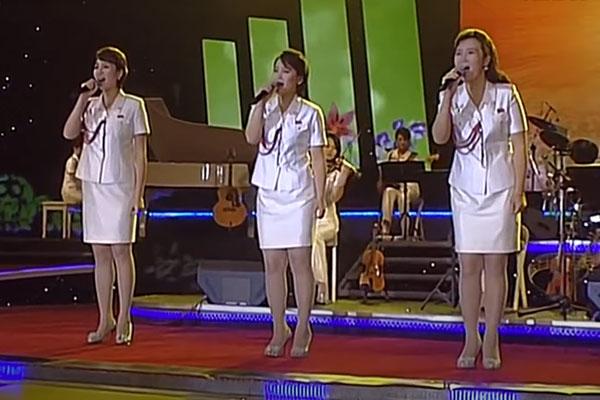 北韓の「音楽政治」について
