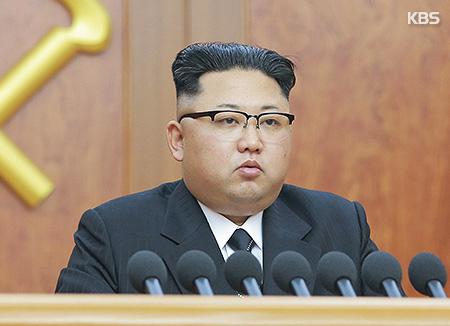 北韩最高领导人金正恩发表2017年新年贺辞