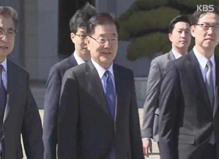 Résultats de la visite des émissaires sud-coréens à Pyongyang