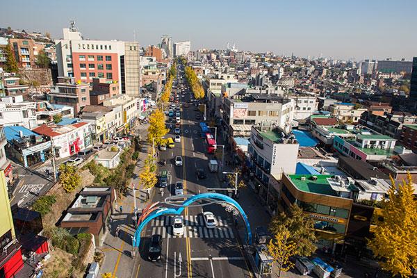 Entlang der U-Bahn-Linie 6: Itaewon