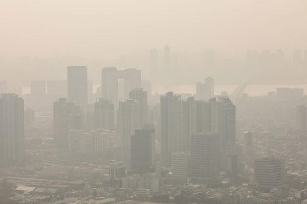 韩国空气污染措施
