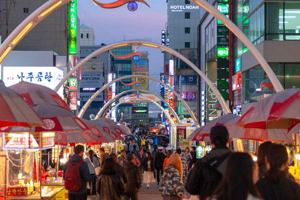 韩国的夜市