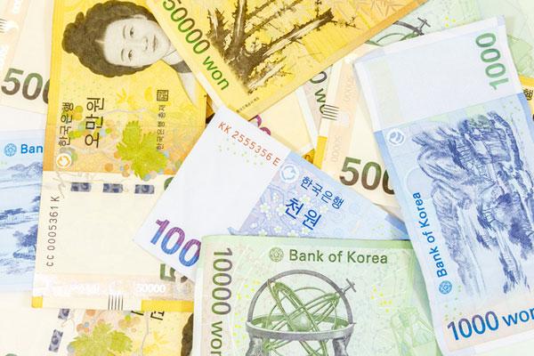 韩国各地收入差距