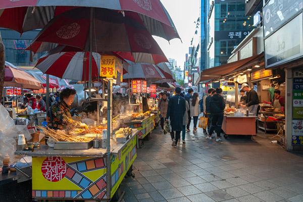 韩国的地摊经济