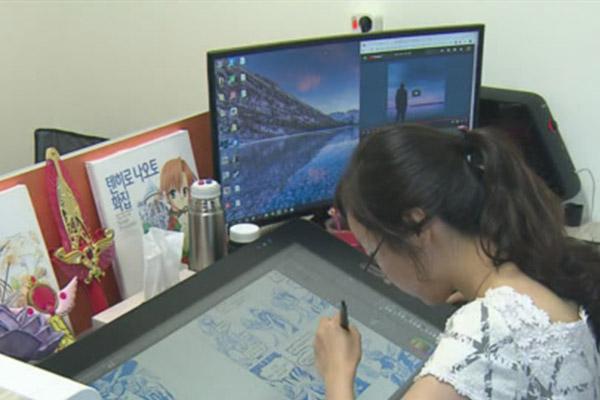 韩国的动漫市场