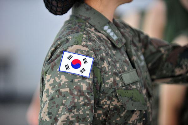 韩国的女兵