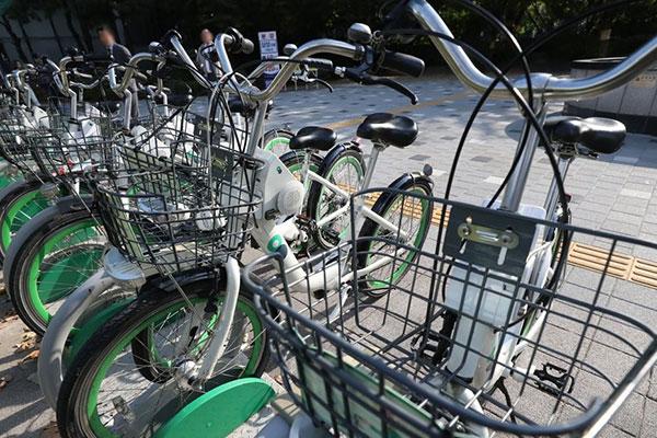 韩国的共享单车
