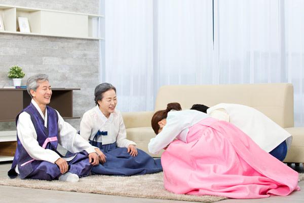韩国人如何过年