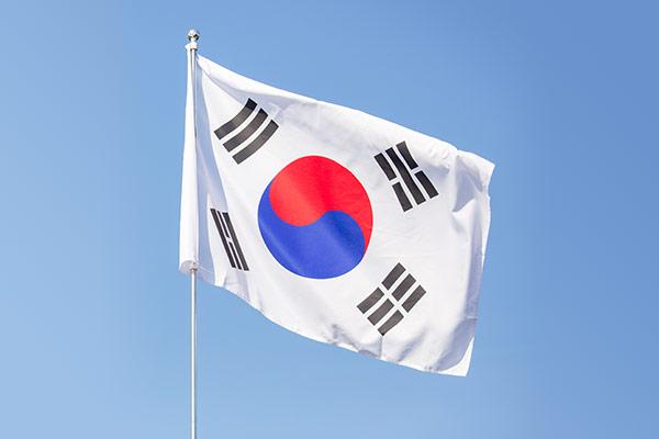 韩国国旗太极旗