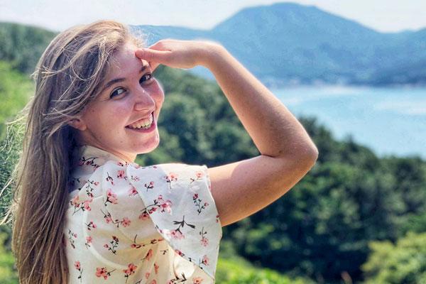 Léa Moreau, la grande voyageuse