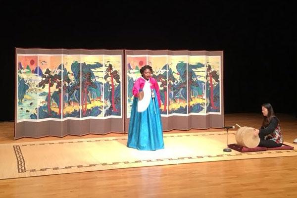 Laure Mafo, nouvelle voix du pansori