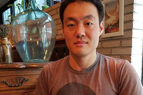 Benoît Houtin, pâtissier français en Corée du Sud