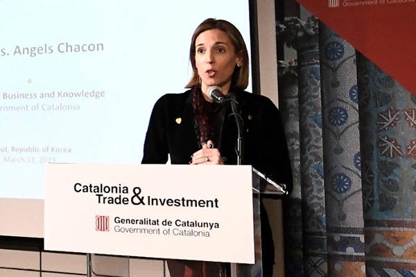 """Àngels Chacón: """"Cataluña es una tierra de oportunidades"""""""