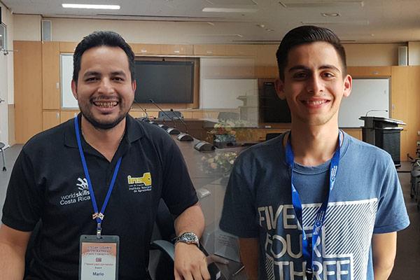 Mario Alberto González y Diego López Garro buscan elevar el nombre de Costa Rica