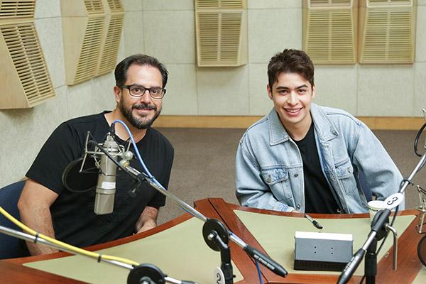 Carlos Delfín y Christian Burgos hablan de la película 'Horizontes'