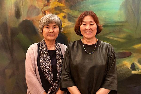 Ch'oe Yun et Choi Yoon-jung, deux grandes passionnées du coréen et du français