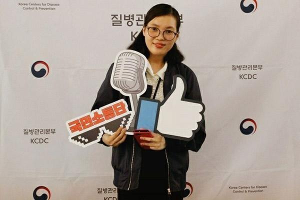 Một cô dâu người Việt được chọn làm thành viên người nước ngoài duy nhất trong chương trình tuyên truyền về y tế và dịch bệnh của Hàn Quốc
