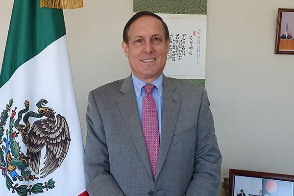 """Embajador de México en Corea: """"La cultura es fundamental para el acercamiento entre dos pueblos"""""""