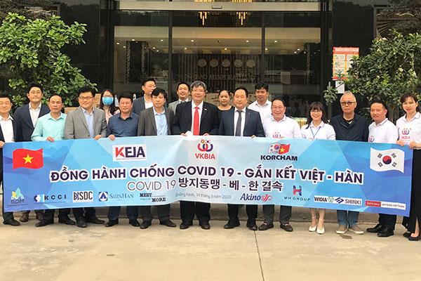 Hiệp hội doanh nhân & đầu tư Việt Nam - Hàn Quốc đồng hành chống dịch COVID-19 và gắn kết Việt – Hàn