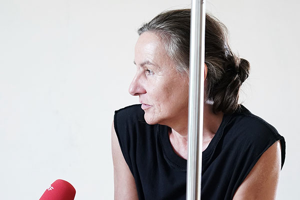 Österreichische Choreografin Andrea Schlehwein