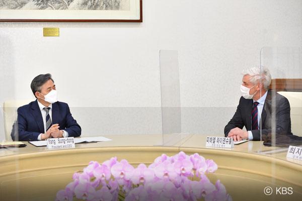 Michael Reiffenstuel, deutscher Botschafter in Südkorea (Teil 1)