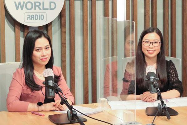 Cô giáo Việt công tác tại trường trung học phổ thông ngoại ngữ ở Hàn Quốc