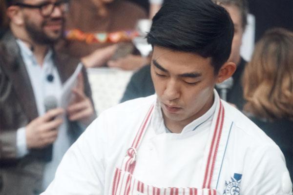 Jin Woo Bum: Espero que la gente sienta que está comiendo buena comida con buenos alimentos a través de mis platos