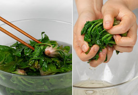 "<b><font color=""1e490b"">Seasoned Spinach</font></b><br /><br />
