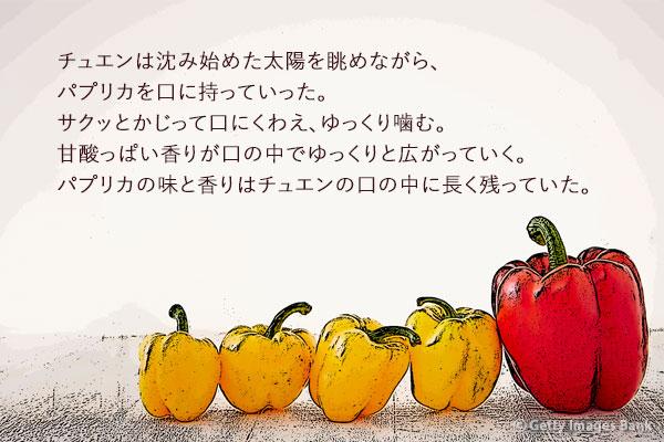 ソ・ソンランの短編小説「パプリカ」