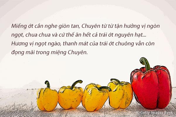 """""""Ớt chuông"""" – Seo Seong-ran"""