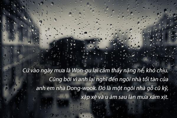 """""""Ngày mưa"""" – Son Chang-seop"""